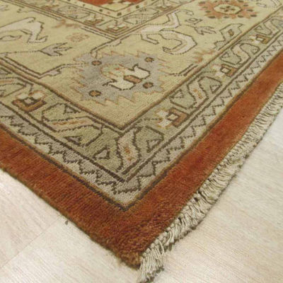 Eastern Rugs Hand-knotted Traditional Oriental Oushak Rug