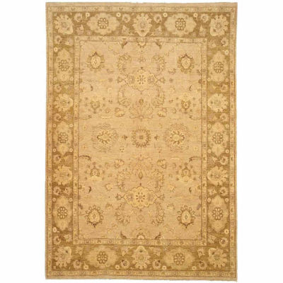 Eastern Rugs Hand-knotted Traditional Oriental Peshawar Rug