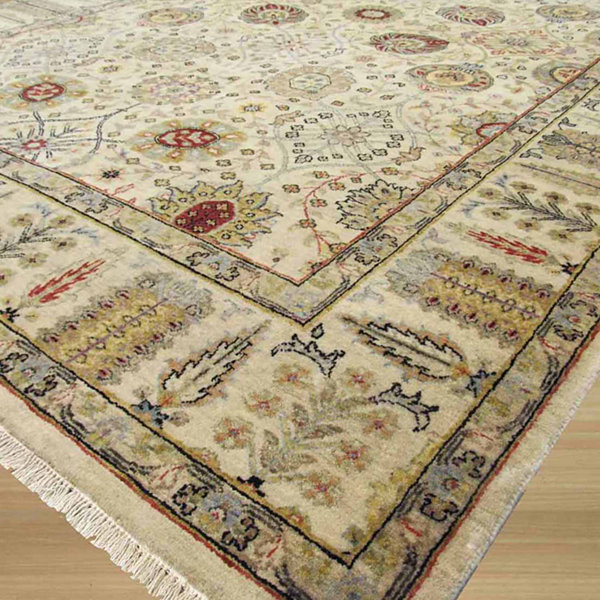 Eastern Rugs Hand-knotted Traditional Oriental Jaipur Rug