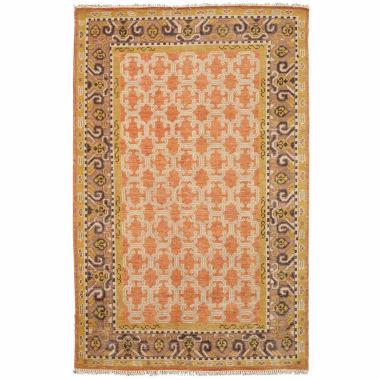 Eastern Rugs Hand-knotted Traditional Oriental Kotan Rug
