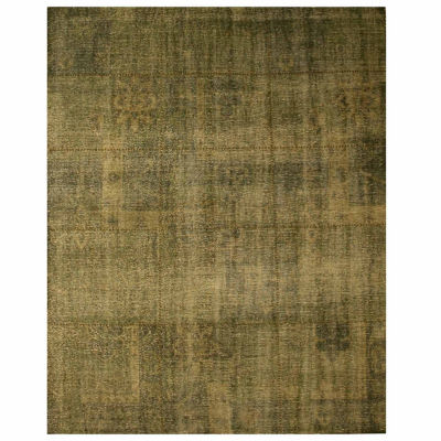 Eastern Rugs Hand-knotted Traditional Oriental Over Dyed Rug