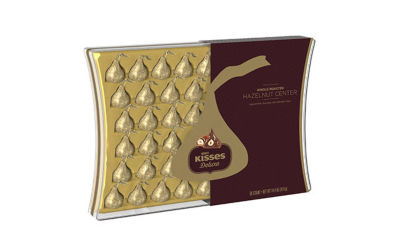 KISSES DELUXE Chocolates Gift Box 50-pc.