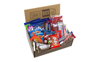 HERSHEY'S The Sweetest Box on Earth Snack Variety Box