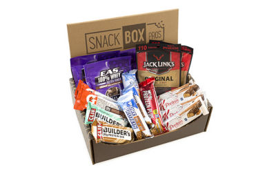 Power Protein Sampler Snack Box