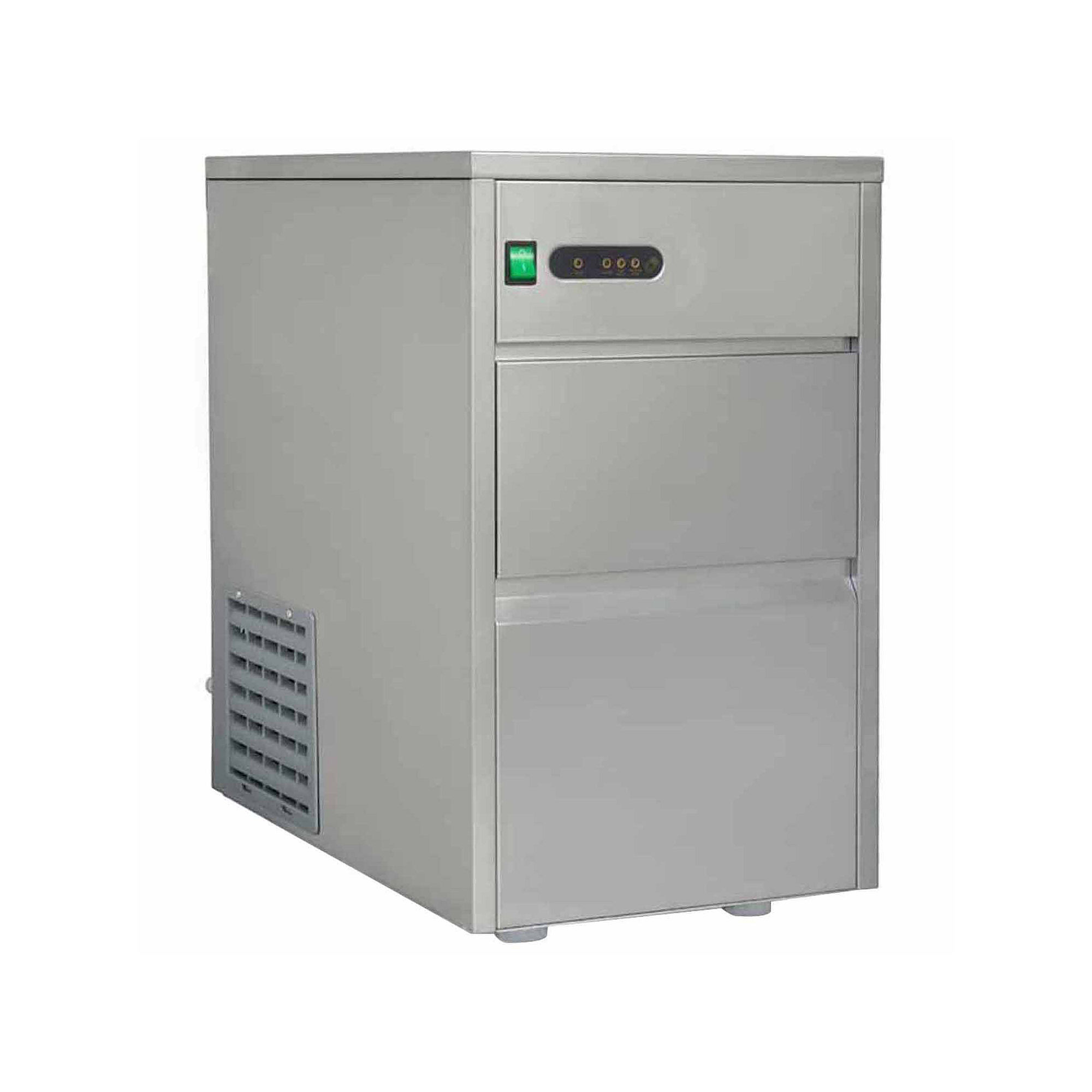 SPT IM-1108C: 110 lbs Automatic Stainless Steel Ice Maker