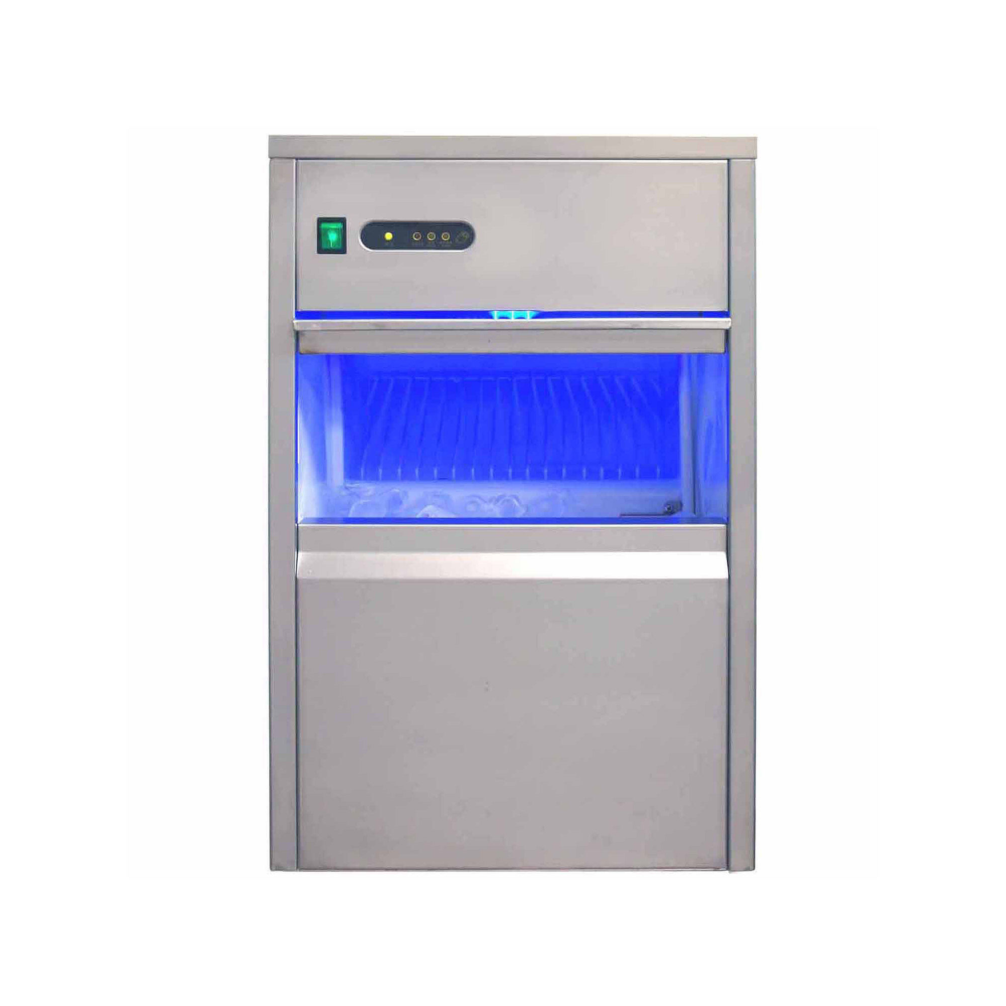 SPT IM-660C: 66 lbs Automatic Stainless Steel Ice Maker