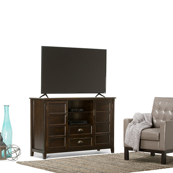 """Burlington Tall TV Media Stand"