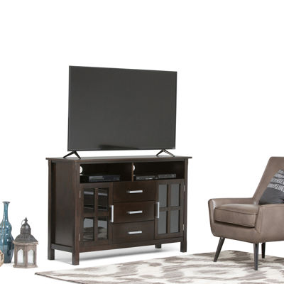"""Kitchener Tall TV Media Stand"