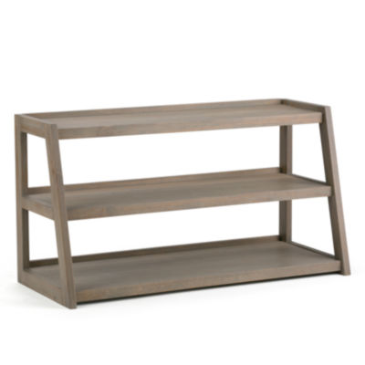 """Sawhorse TV Media Stand"