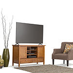Warm Shaker TV Media Stand
