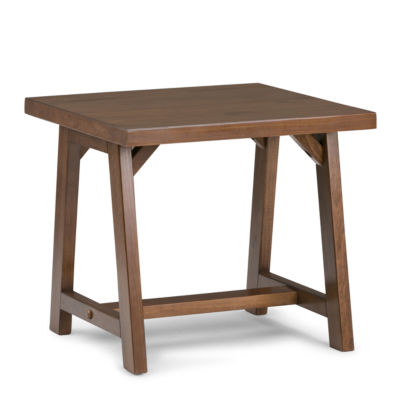 Sawhorse End Side Table