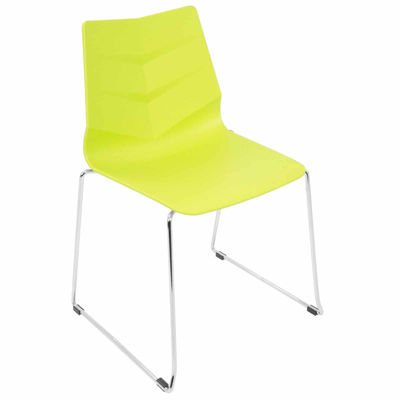 Arrow Modern Stackable Side Chairs - Set of 2