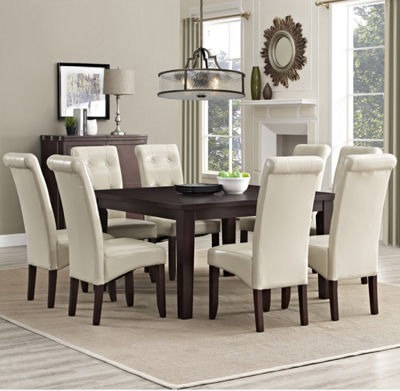 """Cosmopolitan 9 Piece Dining Set"