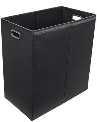 Sorbus Laundry Hamper Sorter with Lid Closure - Double