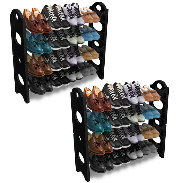 Sorbus Shoe Rack Organizer Storage 8 Shelf
