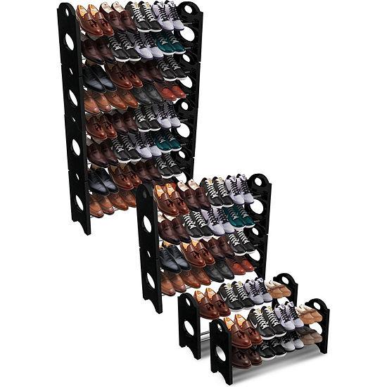 Sorbus Shoe Rack Organizer Storage 8 Shelf