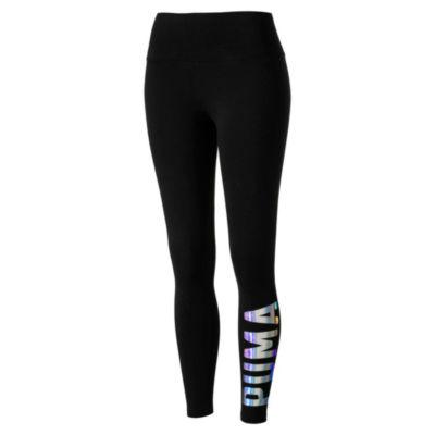 75aee9384e3bf6 ... Amazon Women's Clothing store: Shoptagr | Puma Metallic Logo Leggings  by Puma puma metallic logo leggings