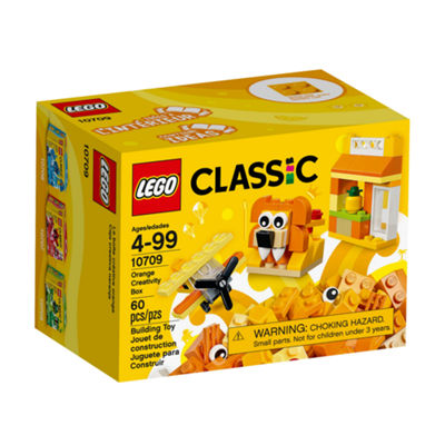 LEGO Classic Creativity Box, Orange 10709