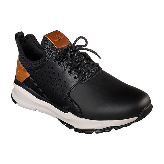 Skechers Relven Mens Oxford Lace-up Shoes Round Toe