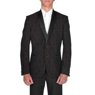 Nick Graham Slim Fit Woven Jacquard Sport Coat