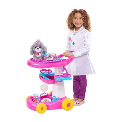Barbie Doll Pet Care Cart