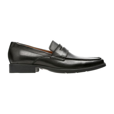 Clarks Mens Tilden Way Loafers Slip-on