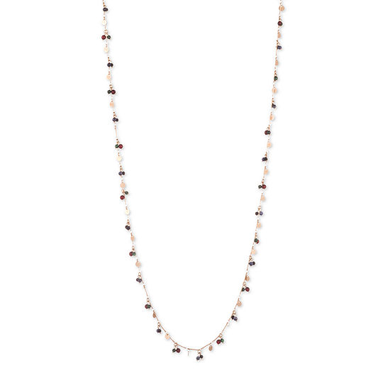 Chaps Womens Strand Necklace