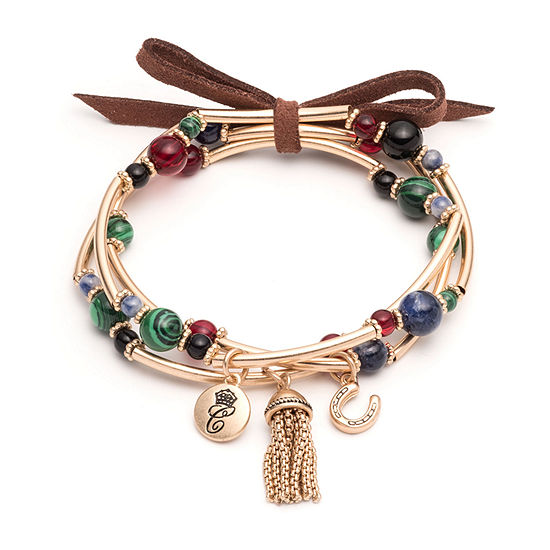 Chaps Womens 3-pc. Bracelet Set