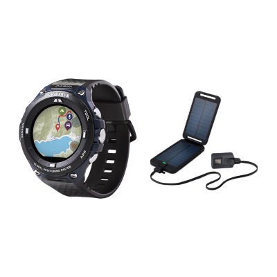 Casio Pro Trek Unisex Black Smart Watch-Wsd-F20a-Bupt