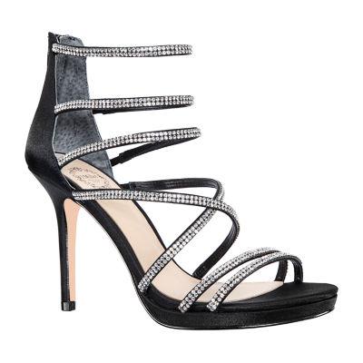 I. Miller Womens Romily Zip Open Toe Cone Heel Pumps