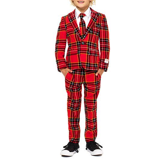 Opposuits Boys 3-pc. Suit Set Preschool / Big Kid Slim