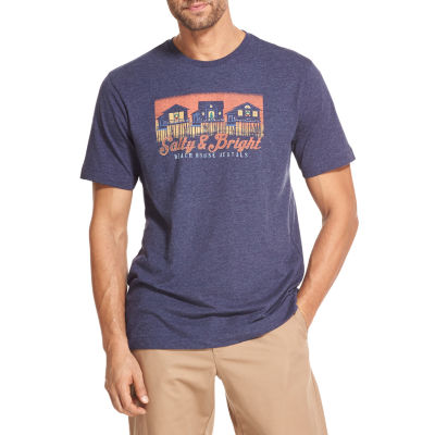 IZOD Screen Tees Short Sleeve Graphic T-Shirt-Big and Tall
