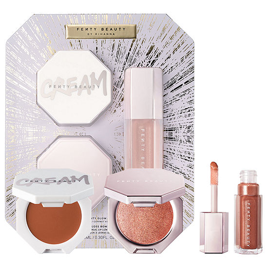 FENTY BEAUTY by Rihanna Fenty Glow Trio Face Lip & Body Set