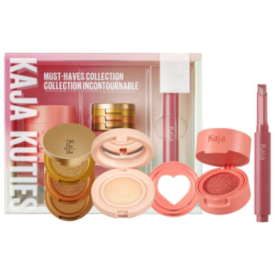 Kaja Kuties Must-Haves Face and Lip Collection ($81 value)