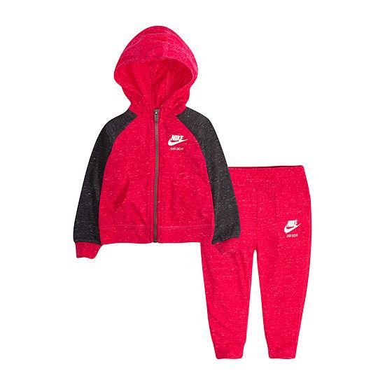 Nike Baby Girls 2-pc. Pant Set