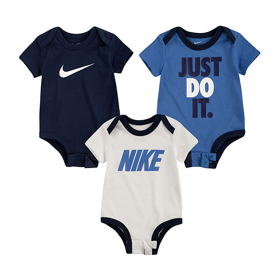 Nike 3 Pc Baby Boys Creeper