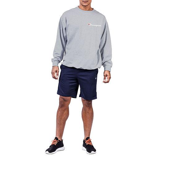 Champion Big and Tall Mens Crew Neck Long Sleeve Fleece Sweatshirt