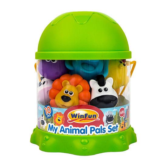 Winfun 10 Count Animal Bath Set