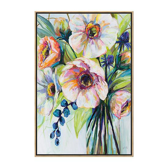 Boston Warehouse 25x37 Pretty Poppies Canvas Art