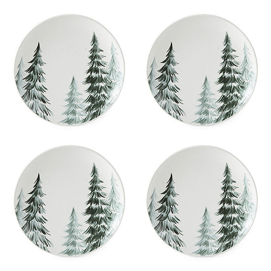Enchante Enchanted Woods 4-pc. Salad Plate