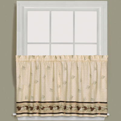Pinehaven Rod-Pocket Window Tiers