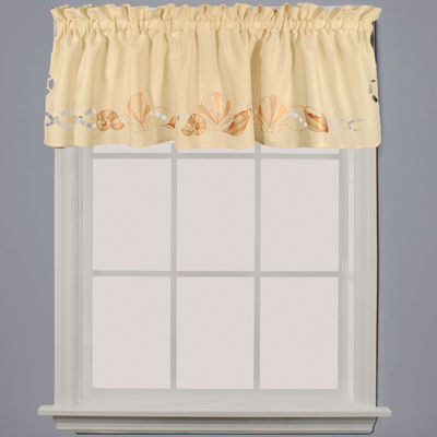 Seabreeze Rod-Pocket Tailored Valance