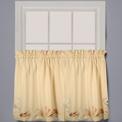 Seabreeze Rod-Pocket Window Tiers