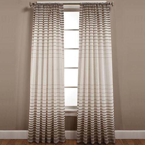 Side Step Rod-Pocket Curtain Panel