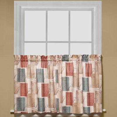 Tranquility Rod-Pocket Window Tiers