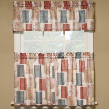 jcpenney.com | Tranquility Rod-Pocket Kitchen Curtains