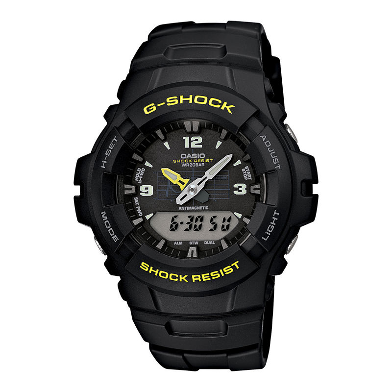 Casio G-Shock Mens Analog/Digital Chronograph Watch G100-9CM