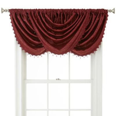 Home Expressions™ Beckley Rod-Pocket Waterfall Valance