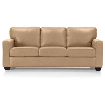 Leather Possibilities Track Arm Sofa