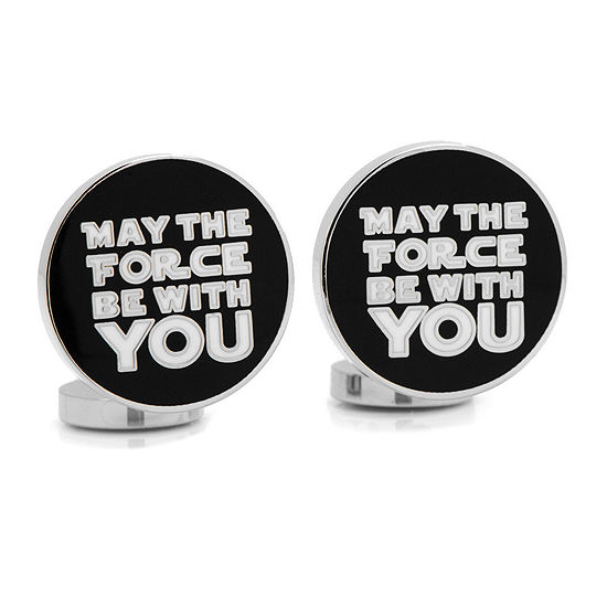 Star Wars® May the Force Be With You Cuff Links